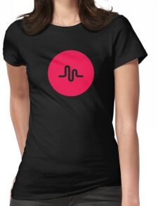 music ly Womens Fitted T-Shirt