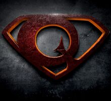 "The Letter Q in the Style of ""Man of Steel"" by BigRockDJ"