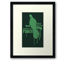 Baelish House Game of Thrones Shirt Framed Print