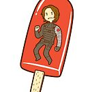 Winter Soldier Ice Pop by nowaitwhat