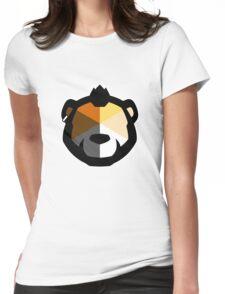 Phenom Bear Womens Fitted T-Shirt