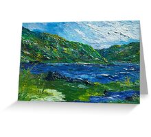 White water in Kenmare  Kerry Greeting Card