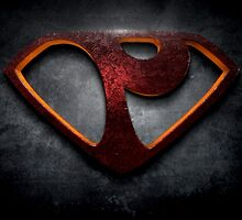 "The Letter P in the Style of ""Man of Steel"" by BigRockDJ"