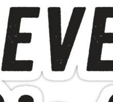Mr. Never Right Sticker