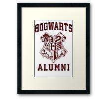 Hogwarts Alumni Framed Print
