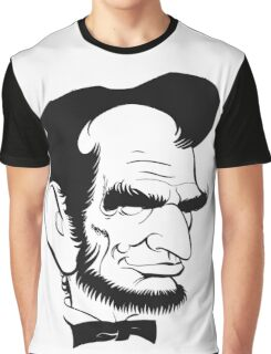 Abraham Lincoln US President Abe Lincoln Graphic T-Shirt