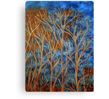 Trees of gold  Canvas Print