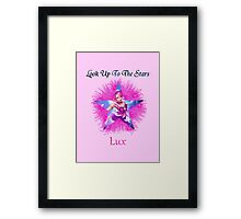 Star Guardians LoL Lux Framed Print