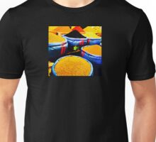 Morocco Marrakesh Marketplace Colours Dyes 2 Unisex T-Shirt