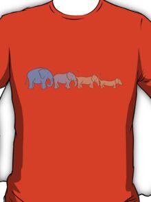 Elehound or doggyphant? T-Shirt