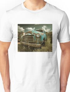 Abandoned GMC Panel Truck Unisex T-Shirt
