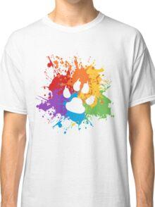 Pride Splash - Furry Pride Classic T-Shirt
