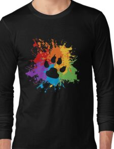 Pride Splash - Furry Pride Long Sleeve T-Shirt