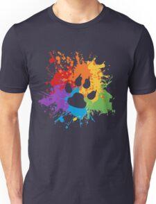 Pride Splash - Furry Pride Unisex T-Shirt