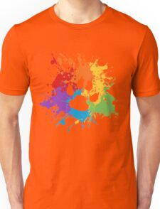 Pride Splash - Furry Pride Unisex T-Shirt