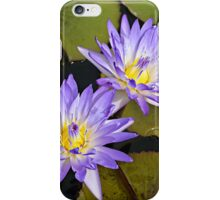 Two Lovely Purple Ladies iPhone Case/Skin