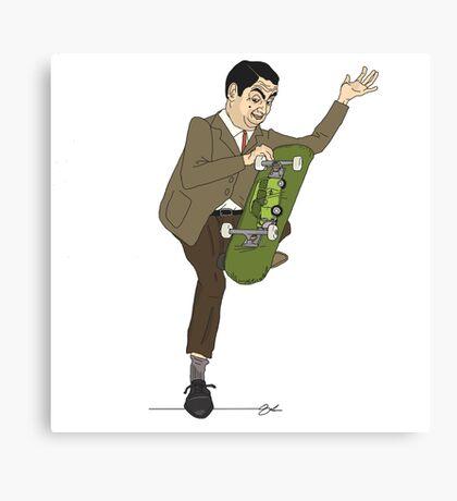 Mr. Bean Plant Canvas Print