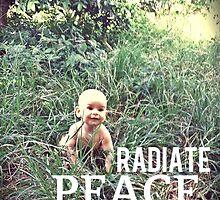 Radiate PEACE - Baby Noah by peacesoftuesday