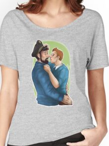 Tintin et le Capitaine Women's Relaxed Fit T-Shirt