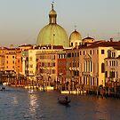 San Simeone Piccolo on the Grand Canal Venice Italy by John Keates