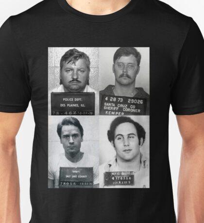 Serial Killers Mugshotc Unisex T-Shirt