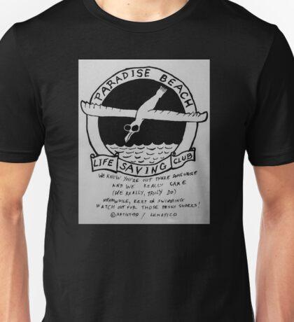 Paradise Beach Life Guard Watch Unisex T-Shirt
