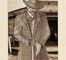 Wyatt Earp - the O.K. Corral by lindseybaker