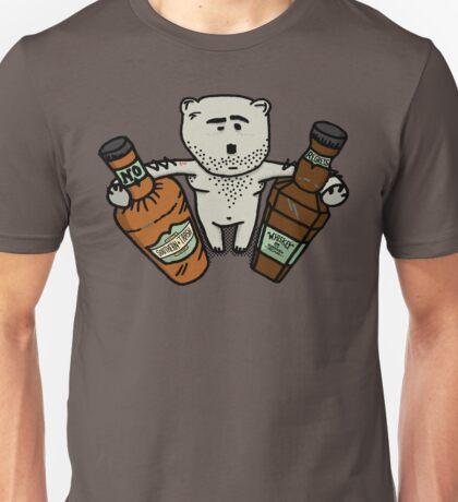 Hungover Bear Unisex T-Shirt