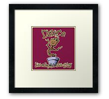 Dance Like Nobody's Watching Framed Print