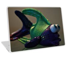 Funny  Fish  Laptop Skin