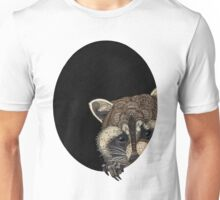 Socially Anxious Raccoon Unisex T-Shirt