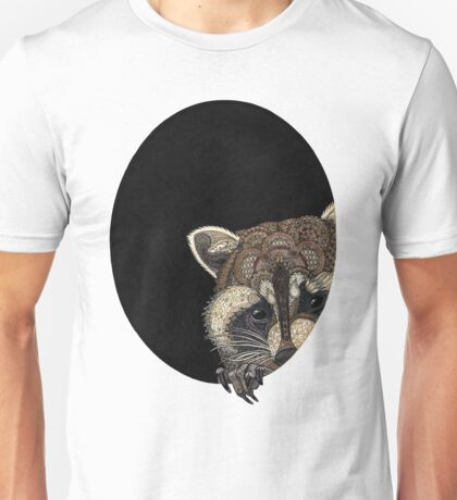 Socially Anxious Raccoon Unisex T-Shirt