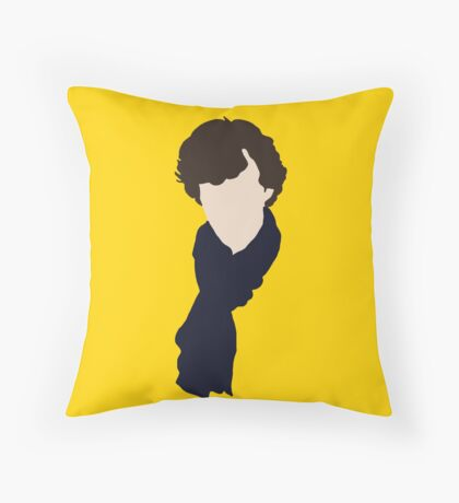 221B Throw Pillow