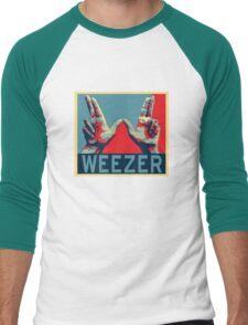 Weezer Hand Men's Baseball ¾ T-Shirt