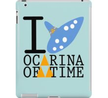 The legend of Zelda - Love Ocarina of Time iPad Case/Skin