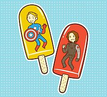 Super Soldier Ice Pops by nowaitwhat