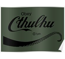 Obey Cthulhu Poster