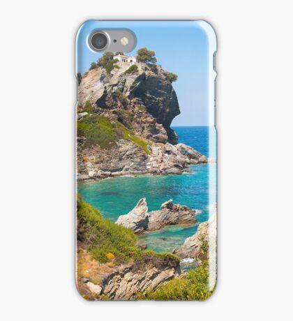 Chapel of saint John, Skopelos, Greece iPhone Case/Skin