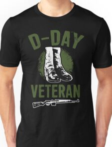 D- Day  Veteran - Perfect gift for veterans Unisex T-Shirt