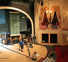 Ford's Theater Where The Show Must Go On by Cora Wandel