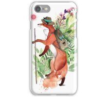 Fox Traveler iPhone Case/Skin