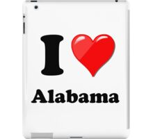 I Love Alabama iPad Case/Skin