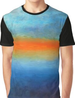Meditative Nature Abstract Impressionism Graphic T-Shirt