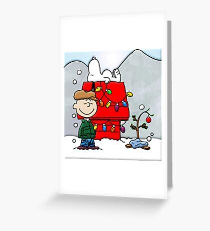 CHARLIE BROWN CHRISTMAS 19 Greeting Card