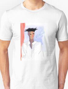 Basquiat - portrait of the artist Unisex T-Shirt