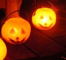 Halloween Jack O Lanterns Sticker