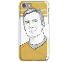 TOS Captain Kirk iPhone Case/Skin
