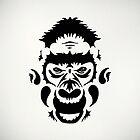 Tribal Gorilla by James McKenzie