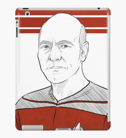 Captain Picard iPad Case/Skin