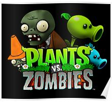 PLANTS ZOMBIES RAB 1 Poster